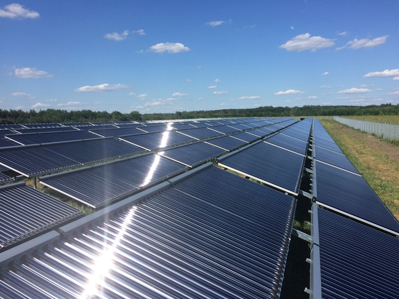 Germany's largest solar thermal plant inaugurated – Solar District