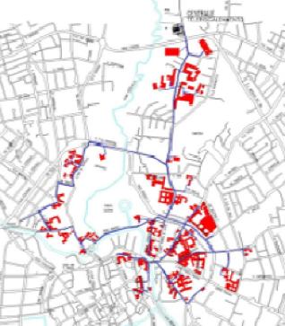 La rete di teleriscaldamento di Vicenza